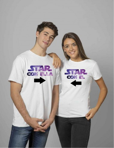 CAMISETA STAR CON EL, ESTAR...